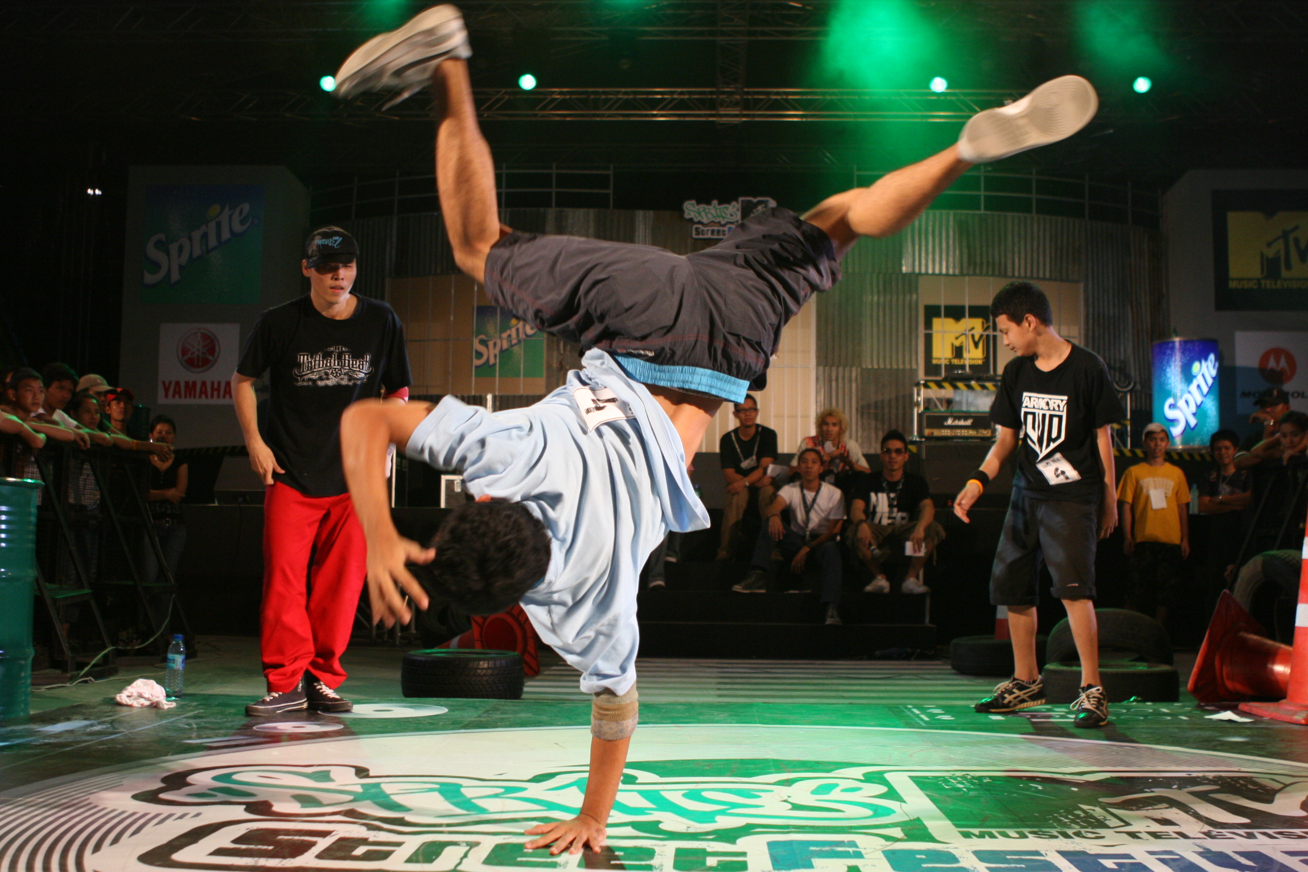 aprender bailar hip hop: