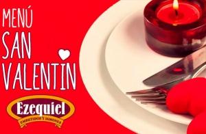Menú especial San Valentín para 2 personas por 45€