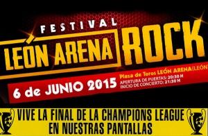 Entradas Festival León Arena Rock 12€